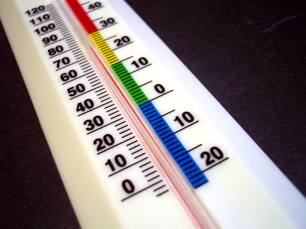 Thermometers generally use Celsius so we need to have a way to convert to Kelvin