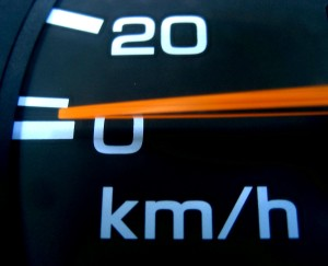 Speedometers keep us from receiving speeding tickets