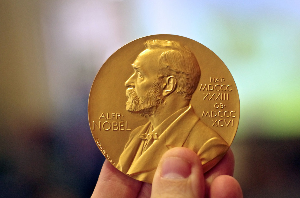 Nobel Prize - Image Courtesy of http://www.flickr.com/photos/atbaker/8459286843/